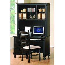<strong>Woodbridge Home Designs</strong> Series Standard Computer Desk Office Suite