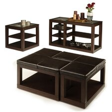 <strong>Woodbridge Home Designs</strong> 3250 Series Coffee Table Set