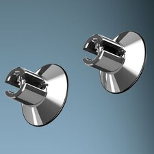 <strong>Bruck Lighting</strong> Highline Ceiling and Wall Re-Router in Chrome (Set of 2)