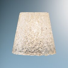 "4.8"" Bling Glass Empire Pendant Shade"