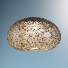 "5.3"" Laguna Glass Round Ceiling Fan Bowl Shade"