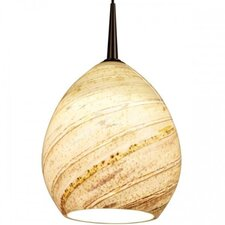 Vibe LED MP Pendant with Sea Shell Glass