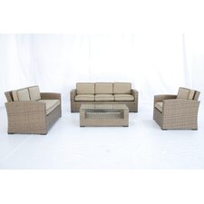 <strong>Creative Living</strong> Ferrara 1-2-3 4 Piece Deep Seating Group with Cushions