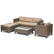 Tahiti 4 Piece Sofa Seating Group