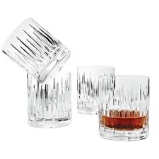 <strong>Reed & Barton</strong> Crystal Soho Double Old Fashioned Glass (Set of 4)