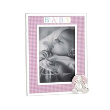 Gingham Bunny Picture Frame