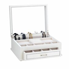 Jillian Jewelry Chest in White