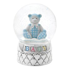 Gingham Bear Waterglobe
