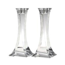 Crystal Tango Candlesticks (Set of 2)