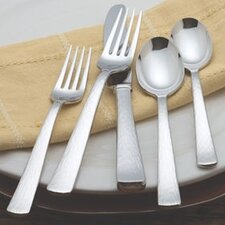 Silver Echo 5 Piece Flatware Set