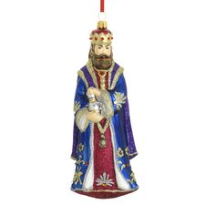 King Gaspar Blown Glass Ornament