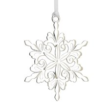 Lunt Annual Snowflake Sterling Ornament