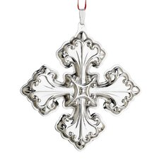 Christmas Cross Sterling Ornament