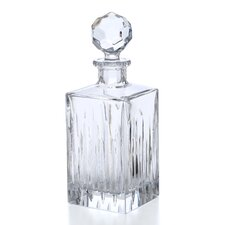 <strong>Reed & Barton</strong> Crystal Soho Squarer Decanter