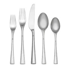 Hollis 45 Piece Dinner Flatware Set
