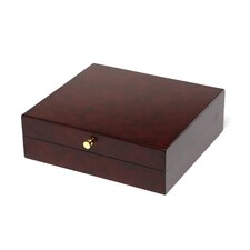 Logan Executive Mans Jewel Chest in Dark Elm Burl