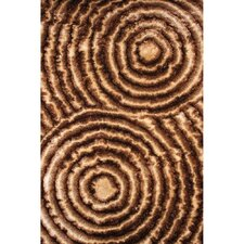 <strong>Rug Factory Plus</strong> 3D Shag Gold/Brown Rug