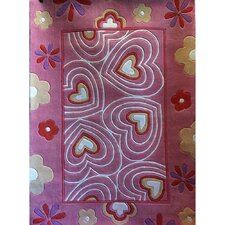 Zoomania Hearts Kids Rug