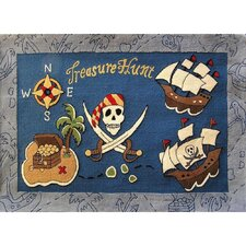 Zoomania Treasure Hunt Kids Rug
