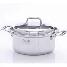 <strong>360 Cookware</strong> Stock Pot with Lid