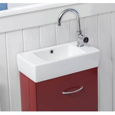 City Rectangle Ceramic Bathroom Sink