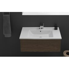 <strong>CeraStyle by Nameeks</strong> Arte Rectangle Ceramic Self Rimming Bathroom Sink