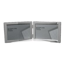 Narrow Edge Double Photo Frame