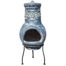 Clematis Chiminea in Blue