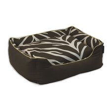Zebra Couch Dog Bed
