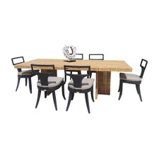 Rodeo 7 Piece Dining Set with Cushion