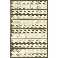 Palm Springs Brown/Green Indoor/Outdoor Rug