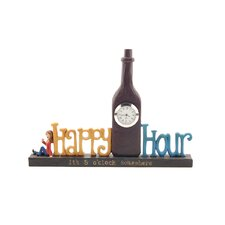"<strong>Blossom Bucket</strong> ""Happy Hour"" Clock"