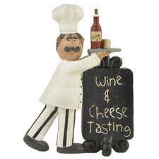 """Wine & Cheese Tasting"" Plaque with Chef"