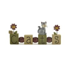 "<strong>Blossom Bucket</strong> ""Cats"" Bead Block with Cat"