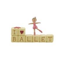 """I Love Ballet"" Block"