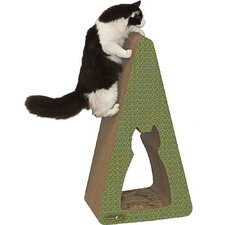 Pyramid Recycled Paper Scratching Post
