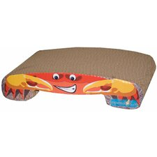 Crab Recycled Paper Cat Scratching Board
