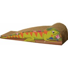 Medium Iguana Recycled Paper Cat Scratching Board