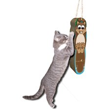 Hanging Squirrel Cardboard Scratching Board