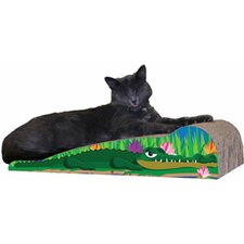 Medium Crocodile Recycled Paper Scratching Board