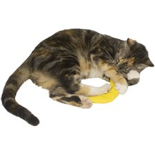 Cat 'n Around Banana Refillable Catnip Toy