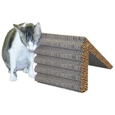 Rub and Ramp Recycled Paper Scratching Post