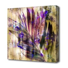 """Mixed Palm"" Graphic Art on Canvas"