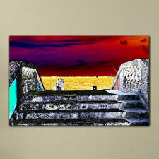 """Auroral Vista"" Gallery Wrapped Canvas Artwork"