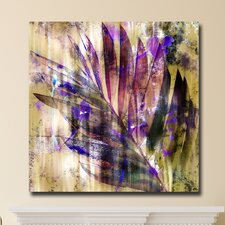 "<strong>Th-Ink Art</strong> ""Mixed Palm"" Gallery Wrapped Canvas Artwork"