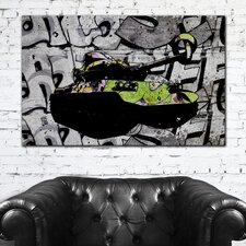 "<strong>Th-Ink Art</strong> ""Tank Knot"" Gallery Wrapped Canvas Artwork"
