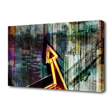 """Bright Lights"" Graphic Art on Canvas"