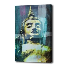 """Zen"" Graphic Art on Canvas"