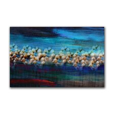 """Sapphire Garden"" Gallery Wrapped Canvas Artwork"