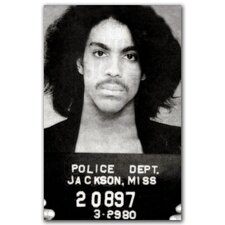 """Prince Mugshot"" Gallery Wrapped Canvas Artwork"